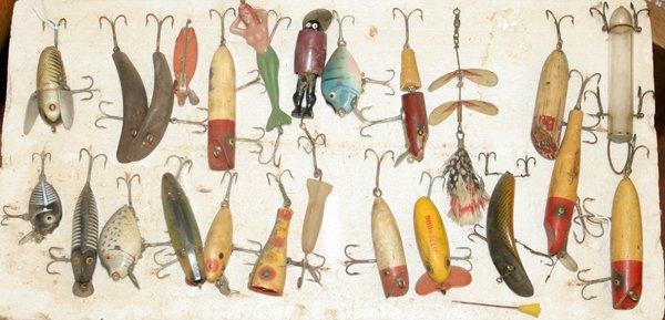 040201: FISHING LURES HELIN, HEDDON, PFLUEGER