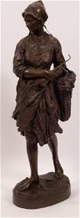 JEAN-BAPTISTE CARPEAUX, FR 1827-1875, ORIGINAL BRONZE