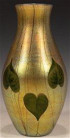 LOUIS C. TIFFANY  INC.FURNACES, FAVRILE ART GLASS VASE