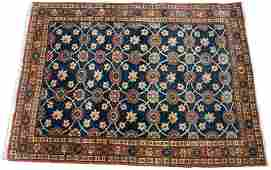 PERSIAN VARAMIN COTTON RUG C 1990 W 35 L 47