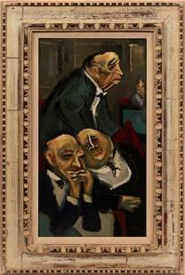 WILLIAM GROPPER (AMERICAN, 1897–1977) OIL ON MASONITE,