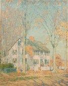 EVERETT LONGLEY WARNER (AMERICAN, 1877–1963) OIL ON