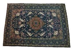 ANTIQUE PERSIAN TABRIZ RUG C 1880 W 4 7 L 6 5