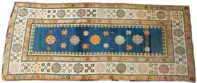 PERSIAN TALISH WOOL RUG C 1900 W 3 L 7 3