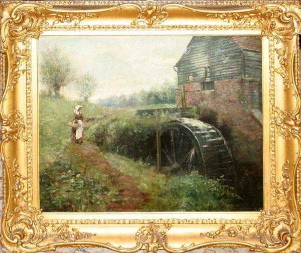 "052011: HERBERT DUTCH OIL ON CANVAS, 1888, 20"" X 24"""