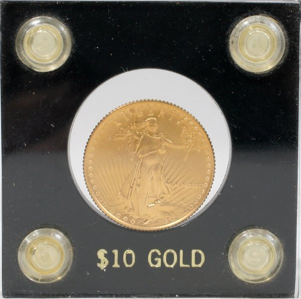 061178: UNITED STATES LIBERTY 1/4 OZ $10 GOLD COIN