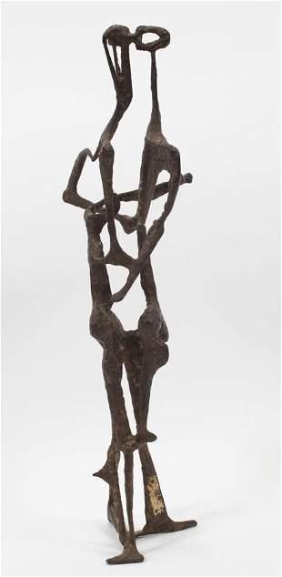 THOMAS MCCLURE (AMERICAN, 1920-2009) METAL SCULPTURE,