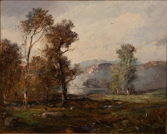 DOUGLAS ARTHUR TEED (AMERICAN, 1860-1929) OIL ON