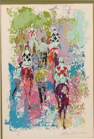 "LEROY NEIMAN (AMERICAN, 1921-2012) SERIGRAPH, H 28"" W"