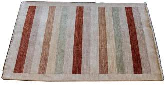 INDO PERSIAN WOOL RUG, C. 2000, W 4', L 6'