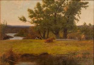 JOHN POWELL HUNT (CANADA,1854-1932) OIL ON CANVAS,