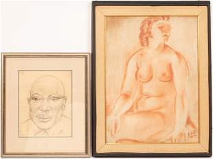 ANTHONY SISTI (AMERICAN 1901 - 1983) SKETCHES ON PAPER,