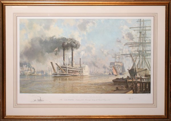 070208: JOHN STOBART COLOR PRINT, NEW ORLEANS