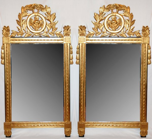 071216: CARVER'S GUILD 'FRENCH PROVINCIAL' MIRRORS,