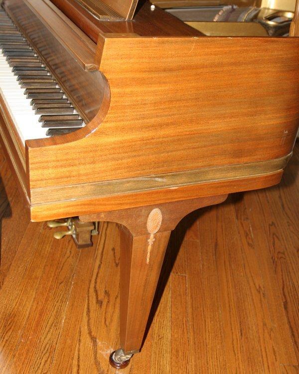 072079: ESTEY MAHOGANY BABY GRAND PIANO, C. 1926/1927, - 2