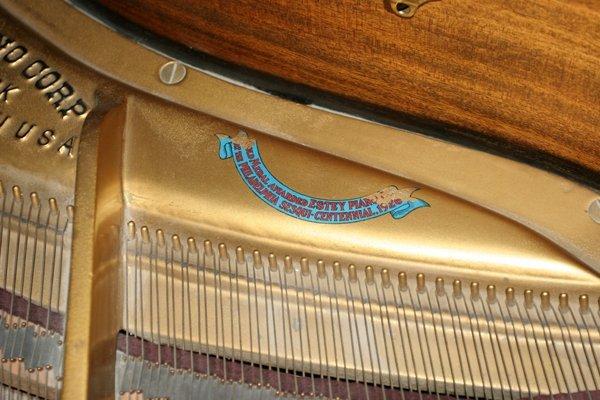 072079: ESTEY MAHOGANY BABY GRAND PIANO, C. 1926/1927, - 5