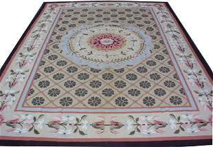 """AUBUSSON STYLE CHINESE TAPESTRY 17' 9"""" X 12' 9"""""""