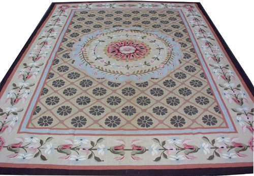 """030013: AUBUSSON STYLE CHINESE TAPESTRY 17' 9"""" X 12' 9"""""""