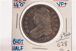 U.S. 1830 STERLING SILVER, LIBERTY CAPPED BUST / EAGLE