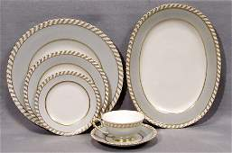 032489 FRANCONIA SET OF DISHES GRAYMONT 32 PIECES