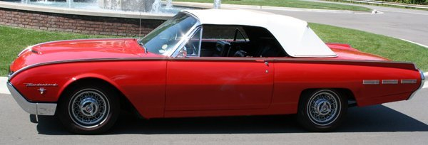 090001: FORD THUNDERBIRD ROADSTER CONVERTIBLE, 1962