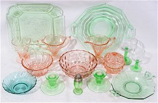 Arcoroc Rosaline Pink Swirl Pitcher & Six Glasses/Tumblers ~ Made in France  | #1721260212