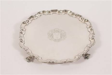 ROBERT ABERCROMBY, GEORGE II STERLING SILVER LARGE