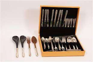 "TOWLE ""MADEIRA"" STERLING FLATWARE FOR EIGHT 86 PCS."