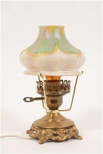"QUEZAL AURENE GLASS SHADE C 1900 H 4"" DIA 4.7"""