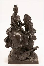 GEORGE VAN DER STRAETEN, BELGIUM 1856 - 28, BRONZE