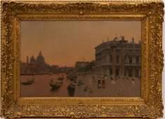 MARTIN RICO Y ORTEGA (SPANISH, 1833-1908) OIL ON