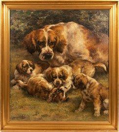 EDMUND HENRY OSTHAUS (AMERICAN 1858-1928) OIL ON
