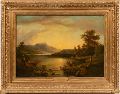 HOMER RANSFORD WATSON (CANADA, 1855-1936) OIL ON BOARD,