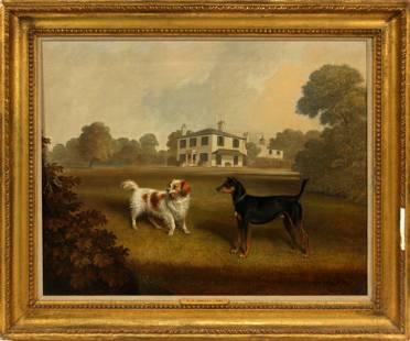CHARLES DICKINSON LANGLEY (BRITISH, 1799-1873), OIL ON