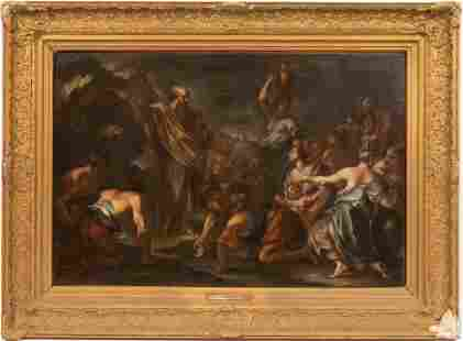 CIRCLE OF ANTOINE COYPEL (FRENCH, 1661-1722) OIL ON