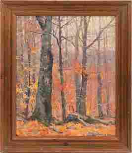 EMILE ALBERT GRUPPE (AMERICAN, 1896-1978) OIL ON CANVAS