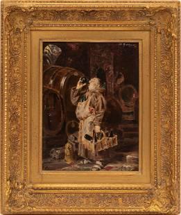 EDUARD VON GRUTZNER, MUNICH 1846 - 25, OIL ON CANVAS H