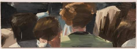 MATTHEW RADFORD (BRITISH, B. 1953) OIL ON CANVAS, 1990,