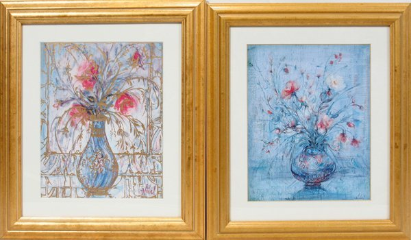 "101541: EDNA HIBEL, PRINTS, TWO, 10"" X 8"", STILL LIFES"