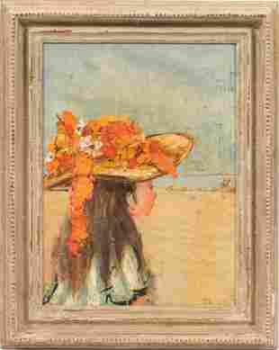MARY BEICH, FR./AMER 1917 - 02, OIL ON CANVAS, C 1960 H