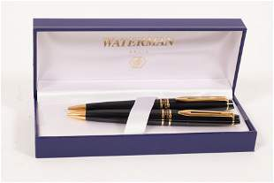 WATERMAN, PARIS, PEN AND PENCIL SET