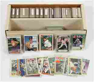 TOPPS, ETC, DETROIT TIGERS BASEBALL CARD COLLECTION,