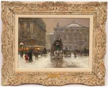 EDOUARD CORTES, (FRENCH 1882-1969), OIL ON CANVAS, H