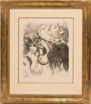 PIERRE AUGUSTE RENOIR (FRENCH 1841-1919), LITHOGRAPH ON