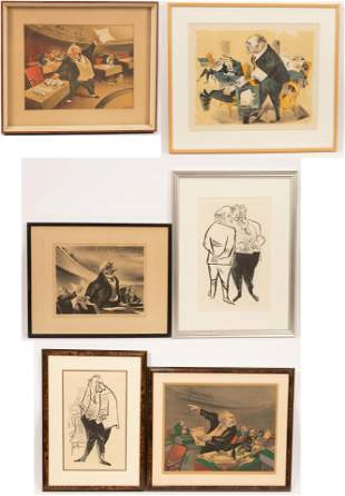 WILLIAM GROPER (AMERICAN, 1897–1977) LITHOGRAPHS