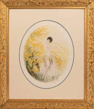 LOUIS ICART (FRANCE/NEW YORK, 1888-1950) DRYPOINT