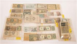 INTERNATIONAL NATIONS PAPER CURRENCY U.S.