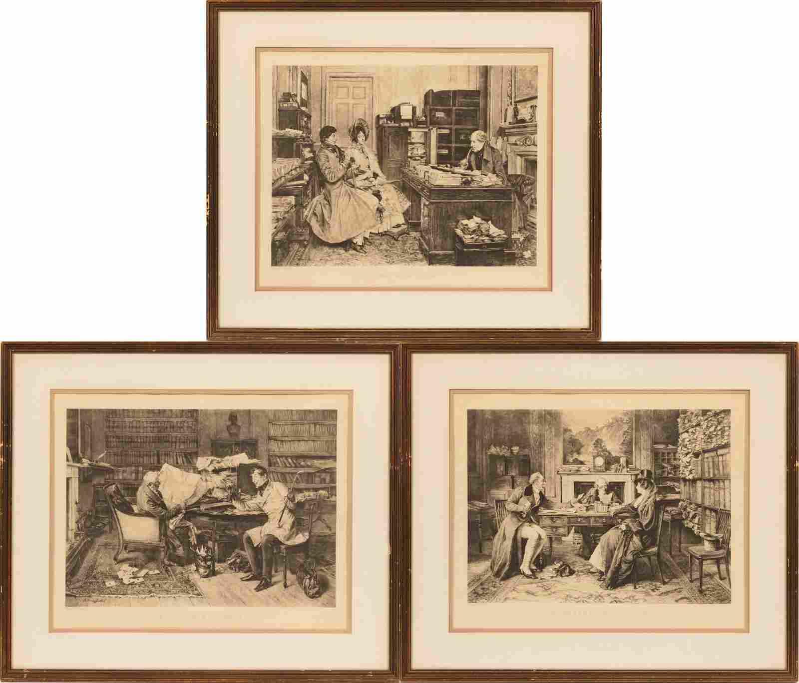 WALTER DENDY SADLER (BRITISH, 1854–1923) OFFSET