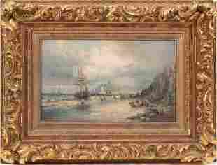 WILLIAM THORNLEY (BRITISH, FL. 1830-1898) OIL ON