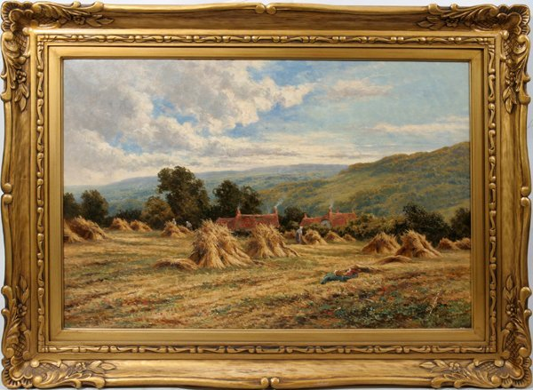 022019: HENRY HILLIER PARKER BRITISH 1858-30 OIL/CANVAS
